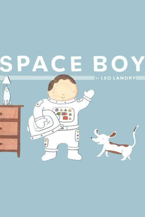 Space Boy Book Cover