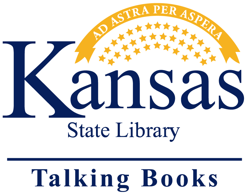 Kansas Talking Books Library logo