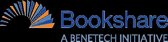 Logo for Bookshare, a Benetech Initiative