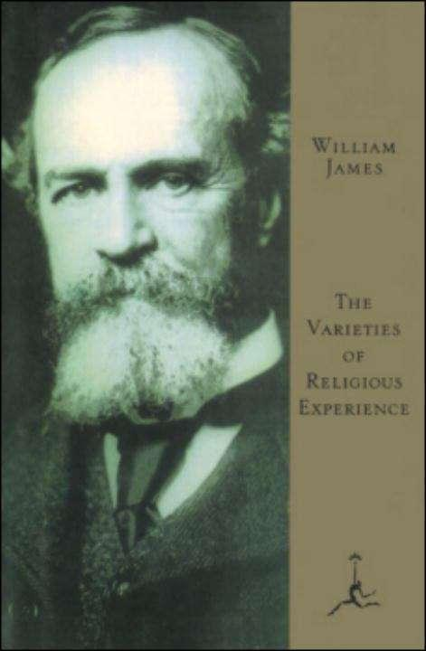 Collection sample book cover The Varieties of Religious Experience, Old photo of man with a beard