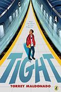 Tight book cover.