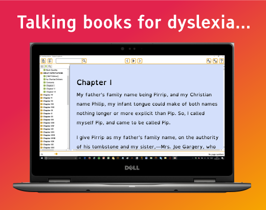Easy Reader for dyslexic readers